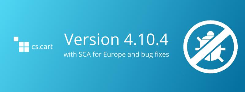CS-Cart 4.10.4